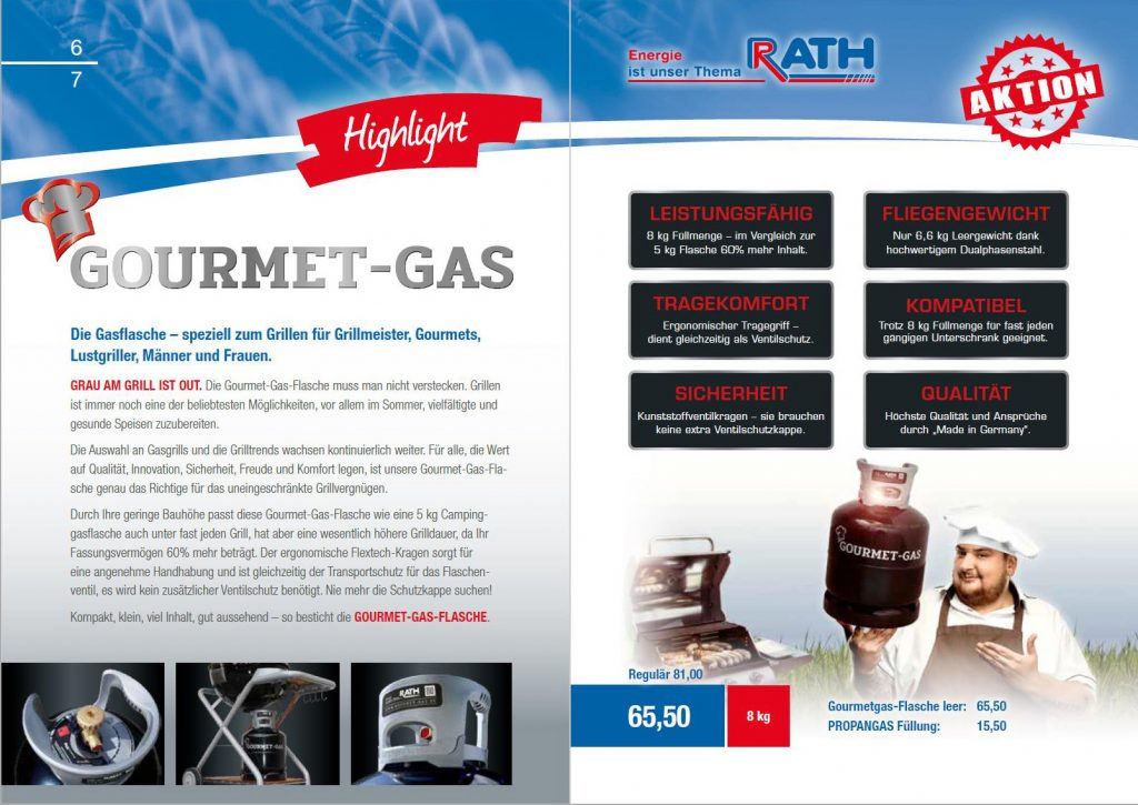 Gourmet-Gas-Flasche
