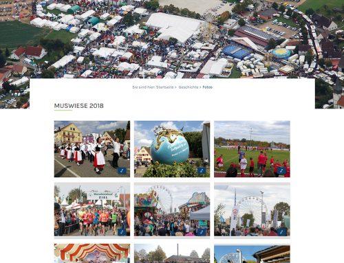 Die neue Homepage zur Muswiese