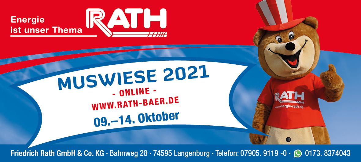 Muswiese am 12. bis 17. Oktober 2019 - Rot am See